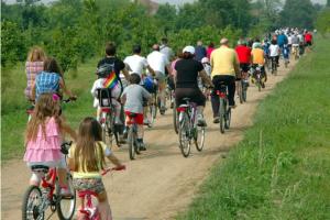 bici e famiglia