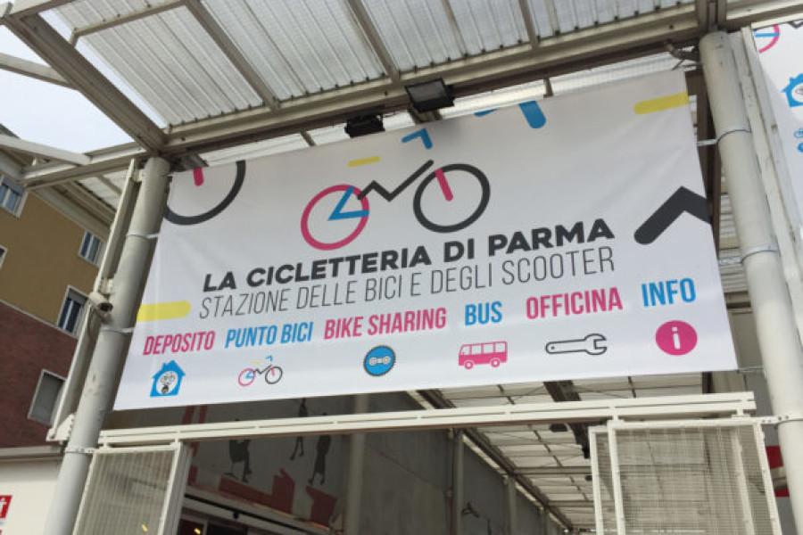 """""""Cicletteria"""": la nuova velostazione a Parma"""