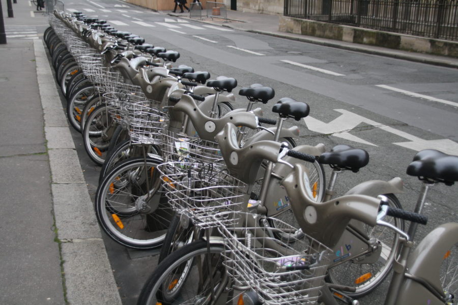 Visitare Parigi in bici con Vélib'
