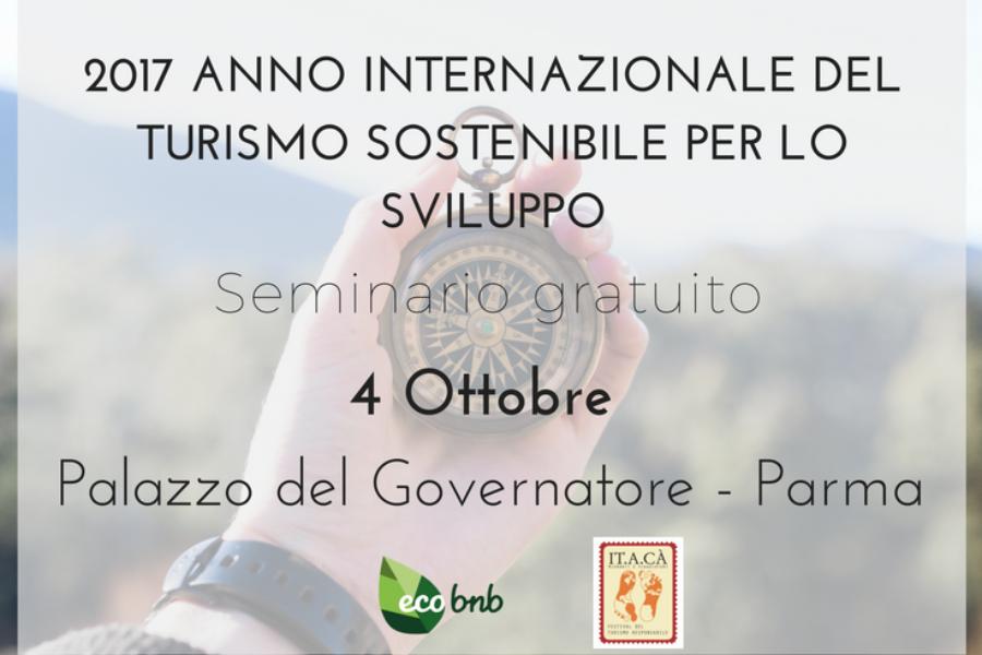 Festival IT.A.CA': seminario sul turismo sostenibile