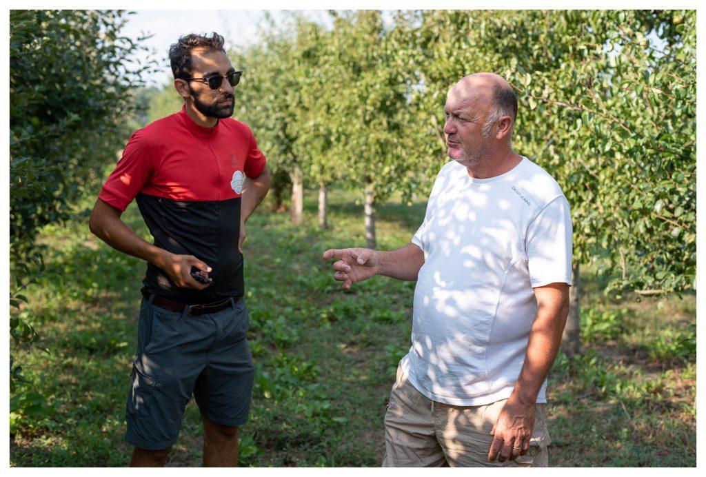 Davide e Stefano chiacchierando